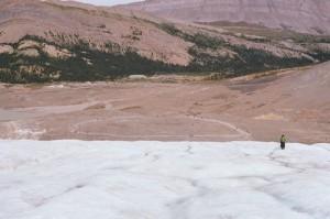 Glacier melt overtime
